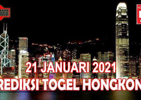 Prediksi Togel Hongkong Hari Ini 21 Januari 2021
