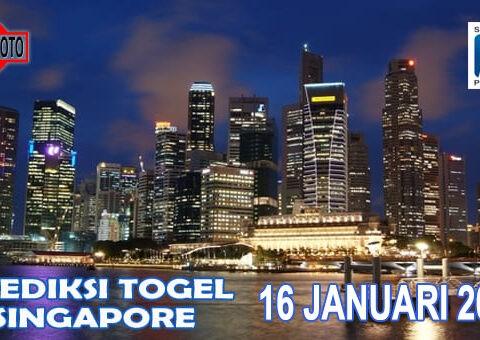 Prediksi Togel Singapore Hari Ini 16 Januari 2021