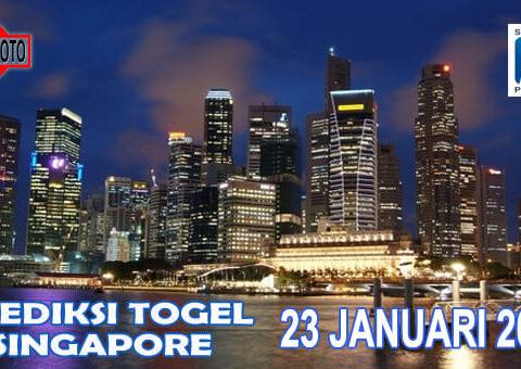 Prediksi Togel Singapore Hari Ini 23 Januari 2021