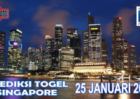 Prediksi Togel Singapore Hari Ini 25 Januari 2021