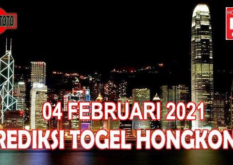 Prediksi Togel Hongkong Hari Ini 04 Februari 2021