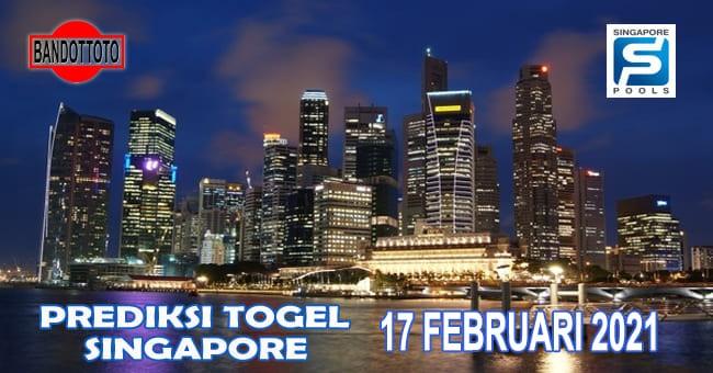 Prediksi Togel Singapore Hari Ini 17 Februari 2021