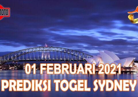 Prediksi Togel Sydney Hari Ini 01 Februari 2021