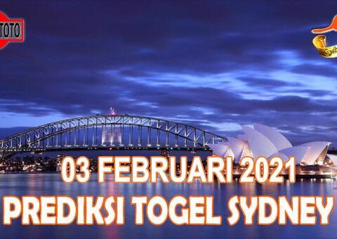 Prediksi Togel Sydney Hari Ini 03 Februari 2021