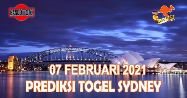 Prediksi Togel Sydney Hari Ini 07 Februari 2021