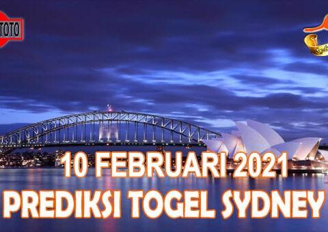Prediksi Togel Sydney Hari Ini 10 Februari 2021