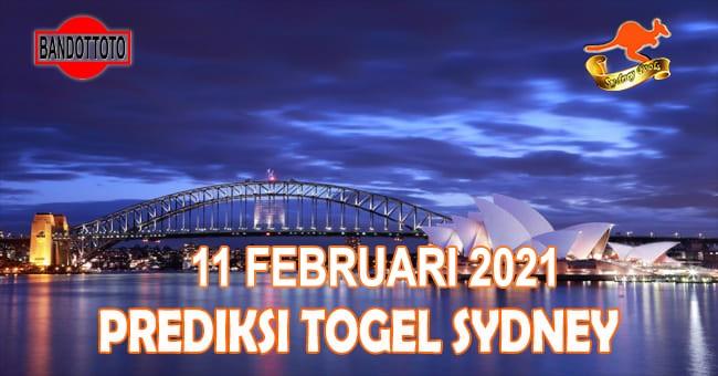 Prediksi Togel Sydney Hari Ini 11 Februari 2021