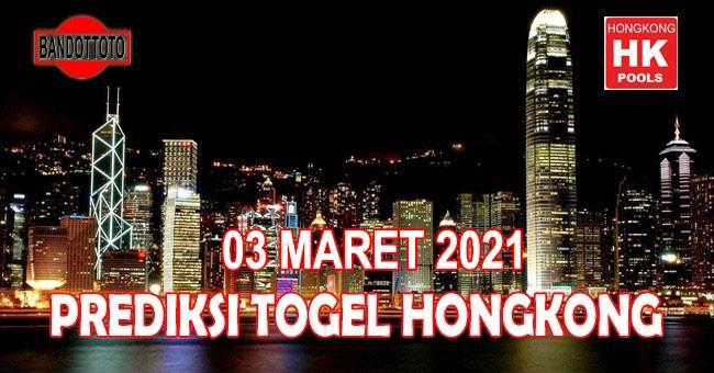Prediksi Togel Hongkong Hari Ini 03 Maret 2021