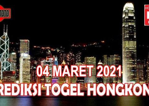Prediksi Togel Hongkong Hari Ini 04 Maret 2021