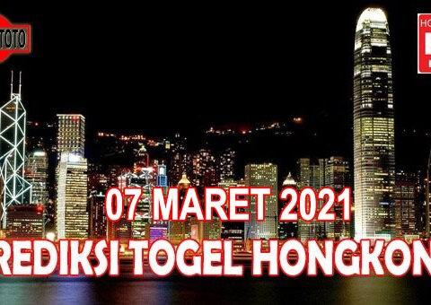 Prediksi Togel Hongkong Hari Ini 07 Maret 2021