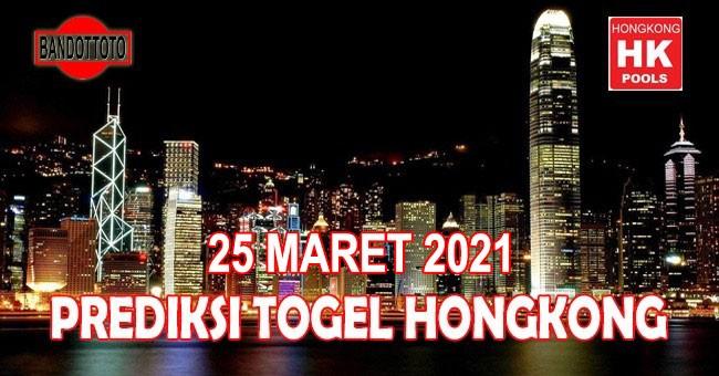 Prediksi Togel Hongkong Hari Ini 25 Maret 2021
