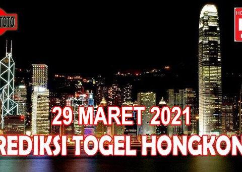Prediksi Togel Hongkong Hari Ini 29 Maret 2021