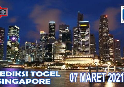 Prediksi Togel Singapore Hari Ini 07 Maret 2021