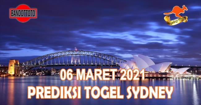 Prediksi Togel Sydney Hari Ini 06 Maret 2021