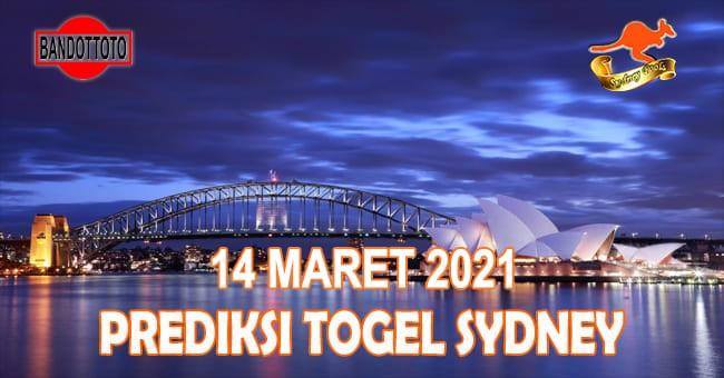 Prediksi Togel Sydney Hari Ini 14 Maret 2021