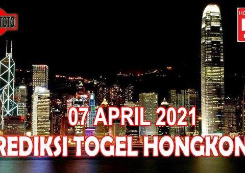 Prediksi Togel Hongkong Hari Ini 07 April 2021