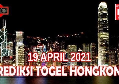 Prediksi Togel Hongkong Hari Ini 19 April 2021