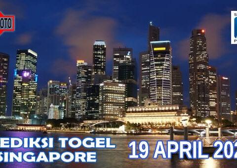 Prediksi Togel Singapore Hari Ini 19 April 2021