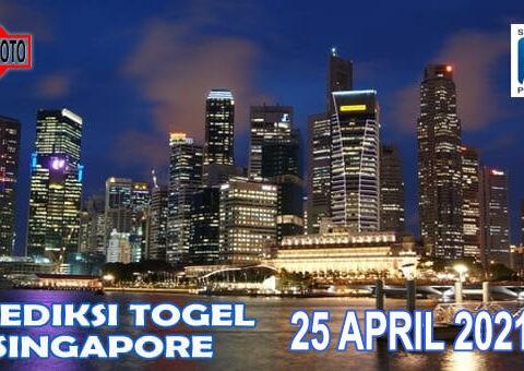 Prediksi Togel Singapore Hari Ini 25 April 2021