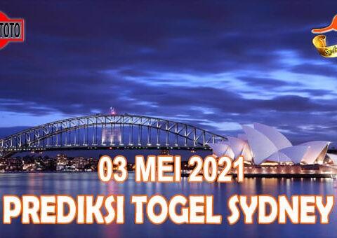 Prediksi Togel Sydney Hari Ini 03 Mei 2021