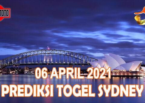 Prediksi Togel Sydney Hari Ini 06 April 2021