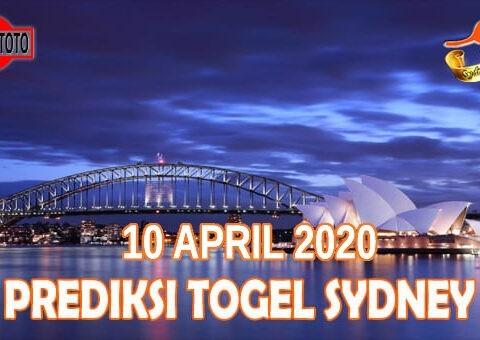 Prediksi Togel Sydney Hari Ini 10 April 2021