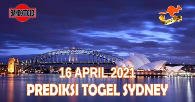 Prediksi Togel Sydney Hari Ini 16 April 2021