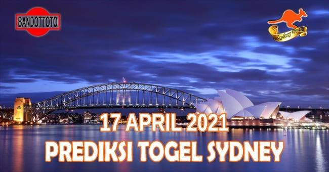 Prediksi Togel Sydney Hari Ini 17 April 2021