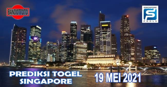 Prediksi Togel Singapore Hari Ini 19 Mei 2021