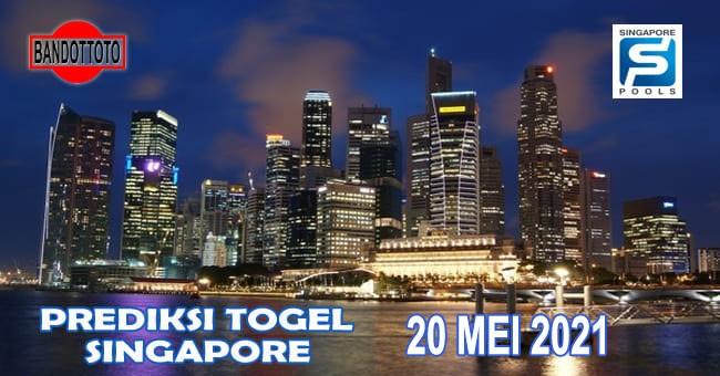Prediksi Togel Singapore Hari Ini 20 Mei 2021