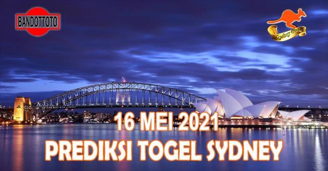 Prediksi Togel Sydney Hari Ini 16 Mei 2021
