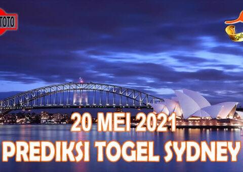 Prediksi Togel Sydney Hari Ini 20 Mei 2021